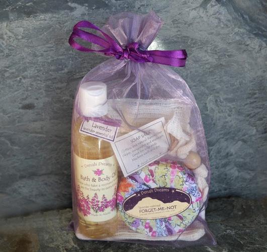 Lavender Oil & Soap Gift Pack